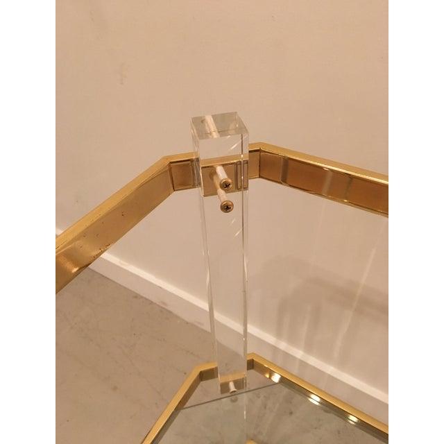 Vintage three tier table - Image 7 of 8