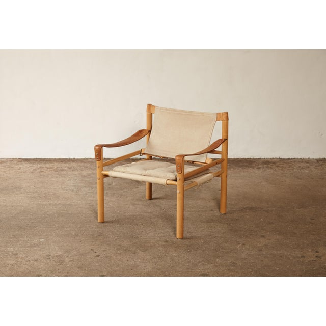 Mid-Century Modern 1970s Mid-Century Modern Arne Norell Safari Sirocco Lounge Chair For Sale - Image 3 of 12