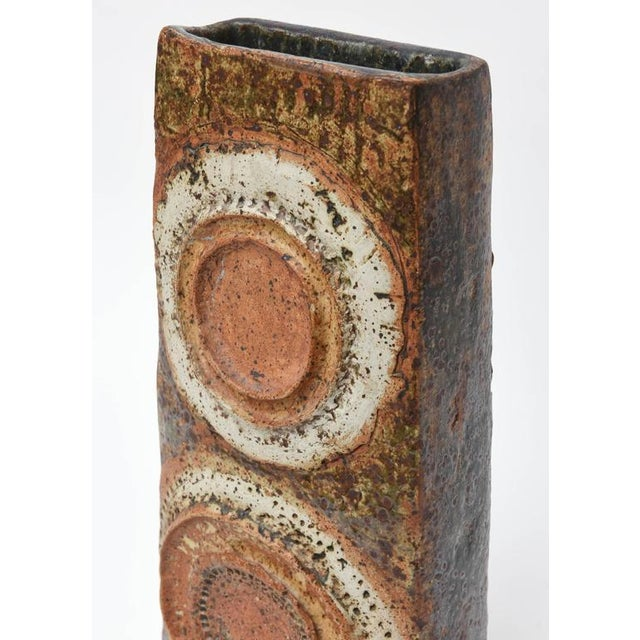 Boho Chic Sculptured Vase by Alan Wallwork For Sale - Image 3 of 9