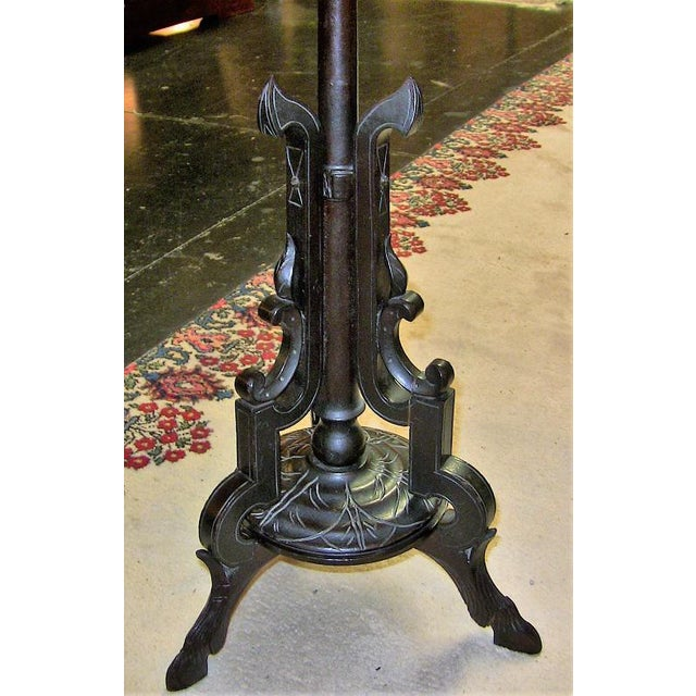 """STUNNING 'Pietra Dura"""" style marble table with incorporated chess board on BEAUTIFUL and UNUSUAL tripod table stand...."""