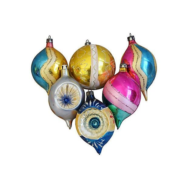 1960s Christmas Ornaments w/Box - Set of 12 - Image 2 of 6