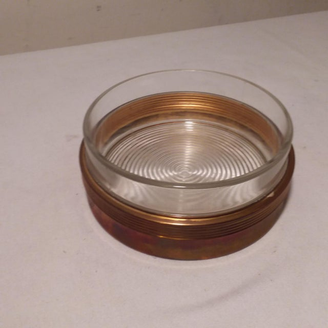 Art Deco Art Deco Chase Vanity Powder Jar For Sale - Image 3 of 11