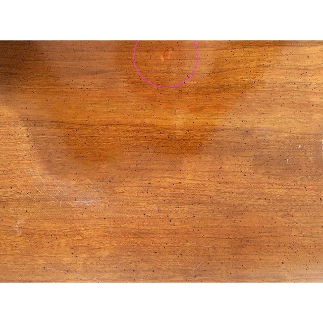 Brown Mid-Century Asian Modern Maple Bunching Tables For Sale - Image 8 of 9