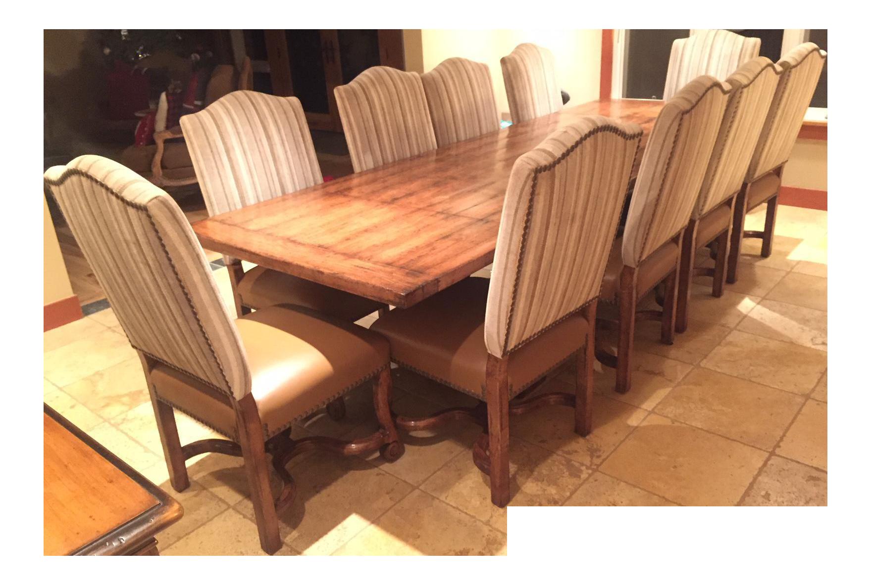 Alder u0026 Company Trestle Dining Table