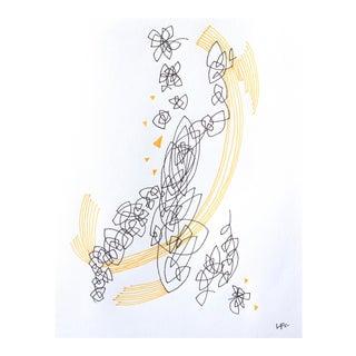 """Linda Colletta """"1985"""" Original Drawing"""