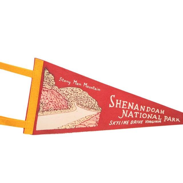Red Stony Man Mountain Shenandoah National Park Virginia Felt Flag - Image 2 of 2
