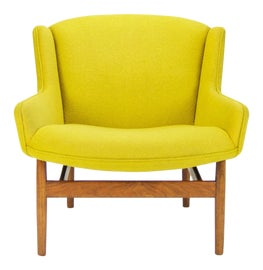 Image of Danish Modern Wingback Chairs