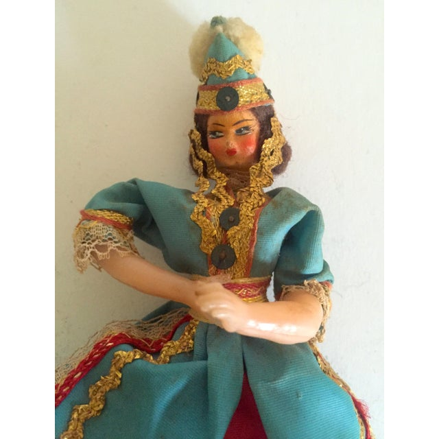 1950's Vintage Handcrafted Spanish Gypsy Souvenir Dolls- Set of 3 - Image 10 of 11