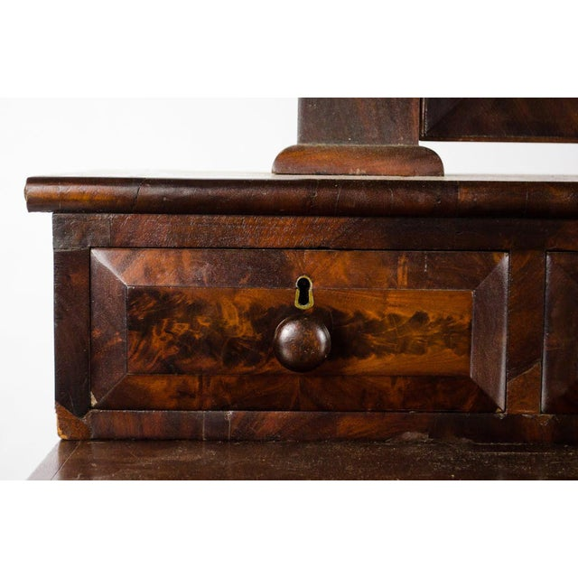Late 19th Century Late 19th Century Antique American Empire Mahogany Vanity Dresser For Sale - Image 5 of 13