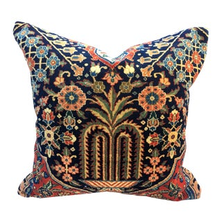 19th C. High Quality Rug Pillow For Sale