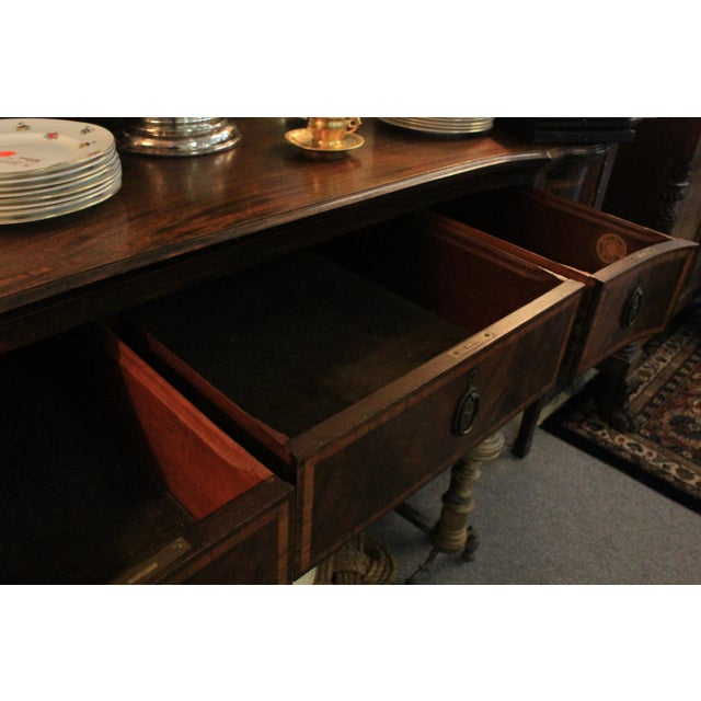 Inlaid Georgian Sideboard For Sale - Image 12 of 12