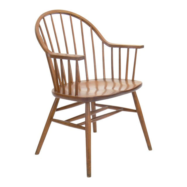Claud Bunyard for Nichols & Stone Continuous Bow Back Windsor Chair - Image 1 of 6