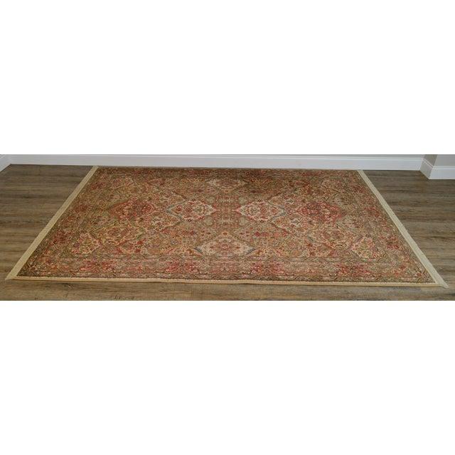 High Quality American Made Clean Pre-Owned Wool Rug by Karastan Store Item#: 22855