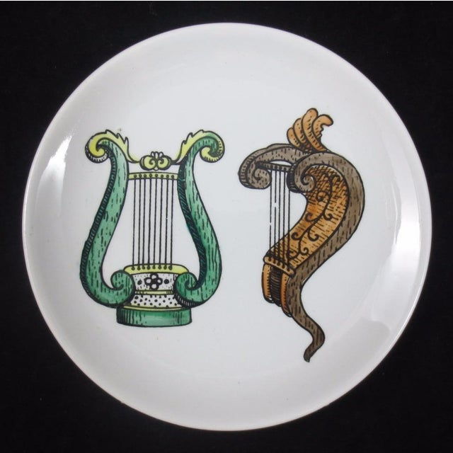 Mid-Century Bucciarelli Musical Coasters - Set of 8 For Sale - Image 9 of 12