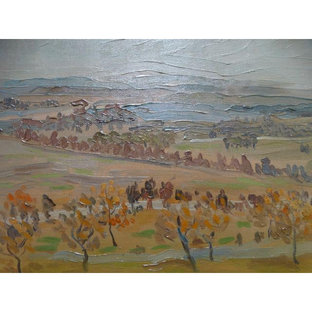 California Winter Fields Painting by Anders Aldrin - Image 6 of 8