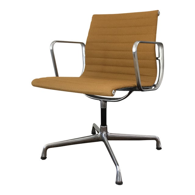 Eames Aluminum Group Side Chair For Sale