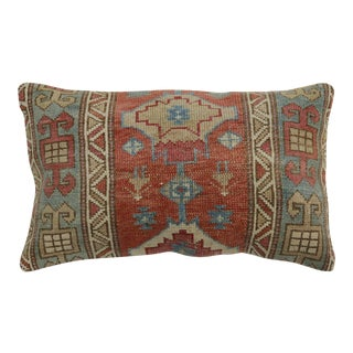 Large Caucasian Rug Pillow For Sale