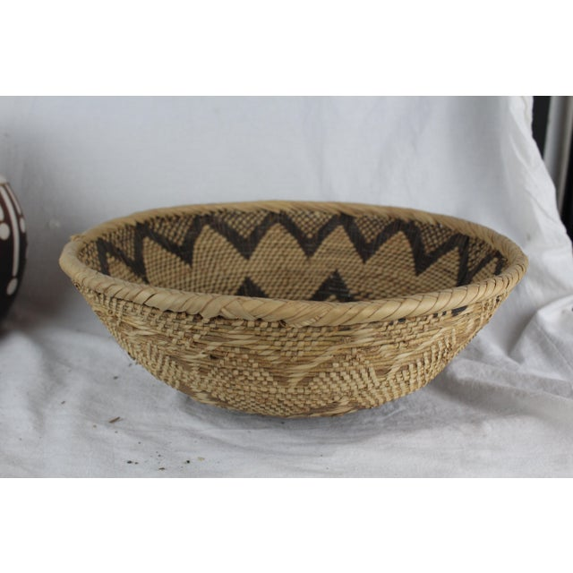 Ghanian Basket For Sale - Image 4 of 9