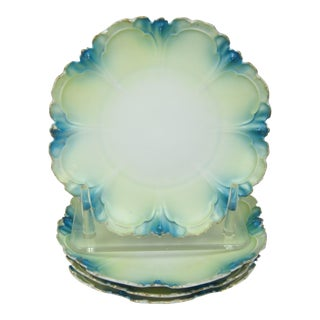 French Dessert Plates, Set of 4