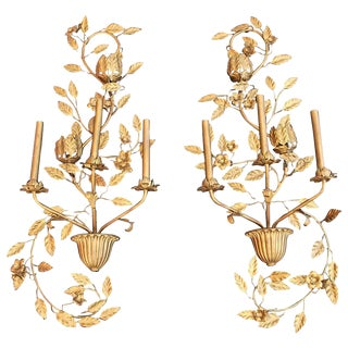 Italian Sconces - a Pair For Sale