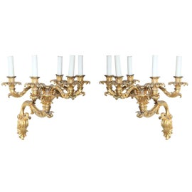 Image of Bronze Sconces and Wall Lamps