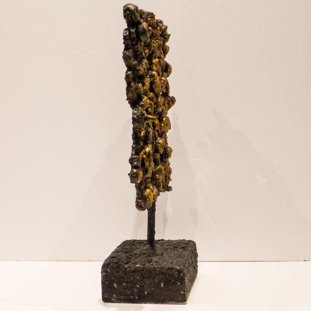 "Bronze James Bearden ""Barnacle Tile"" For Sale - Image 7 of 9"