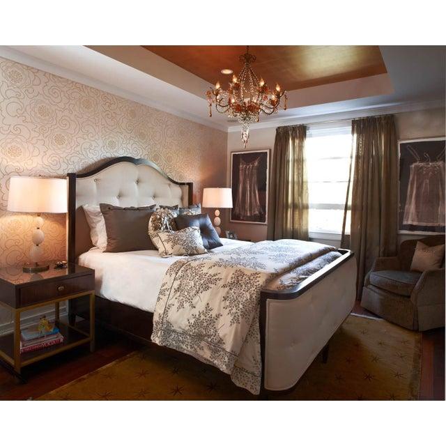 2010s Century Furniture Omni Queen Bedframe For Sale - Image 5 of 9