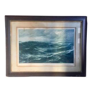 """Large """"Windstarke 10 - 11"""" Framed Print For Sale"""