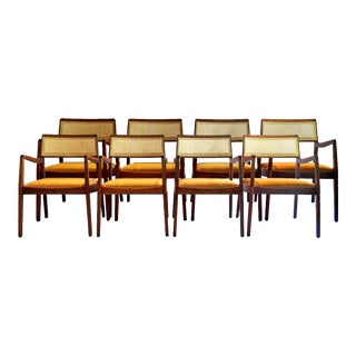 """Jens Risom """"Playboy"""" Dining Chairs - Set of 8"""