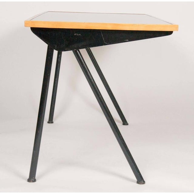 Mid-Century Modern Compass Desk by Jean Prouve For Sale - Image 3 of 10