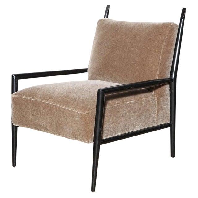 1950s Vintage Paul McCobb 3082-E Planner Group Ebonized Lounge Chair For Sale