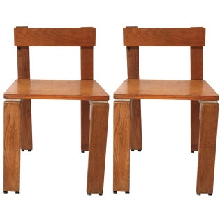 Pair of Georges Candilis and Anja Blomstedt Chairs For Sale
