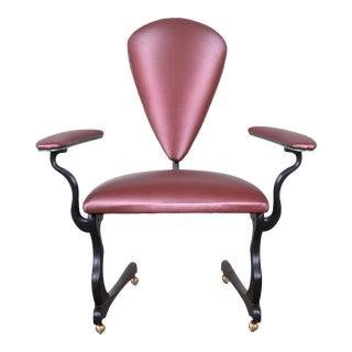"""Peter Handler Custom Handmade """"Pteranodon"""" Postmodern Desk Chair, 2008 For Sale"""