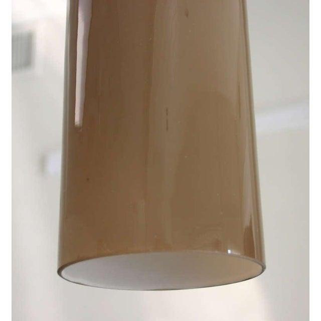 1950s Italian Cased Glass Pendants For Sale - Image 5 of 9