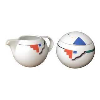 Studio Nova Orbit Creamer & Sugar Bowl Set - a Pair For Sale