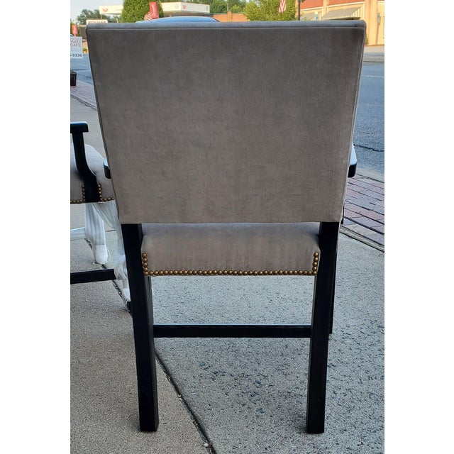 Henredon Furniture Mark D. Sikes Sheffield Upholstered Arm Chair For Sale - Image 10 of 11