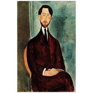 1940s Amedeo Modigliani Leopold Zborowsky Swiss Plate For Sale