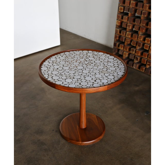Gordon Martz Ceramic Tile-Top Occasional Table, Circa 1960 For Sale In Los Angeles - Image 6 of 11