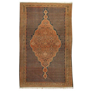 """Mid-19th Century Persian Malayer Rug - 51"""" x 78"""" For Sale"""