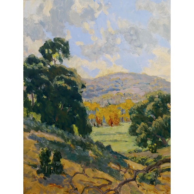 American Rodolfo Rivademar - From the WIlderness South of the 71 Fwy- California Oil Painting For Sale - Image 3 of 9