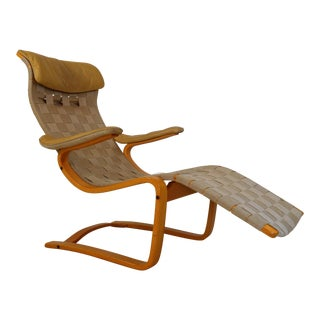 Lounge Chair by Gustav Axel Berg By Broderna Andersson, Sweden 1970 For Sale