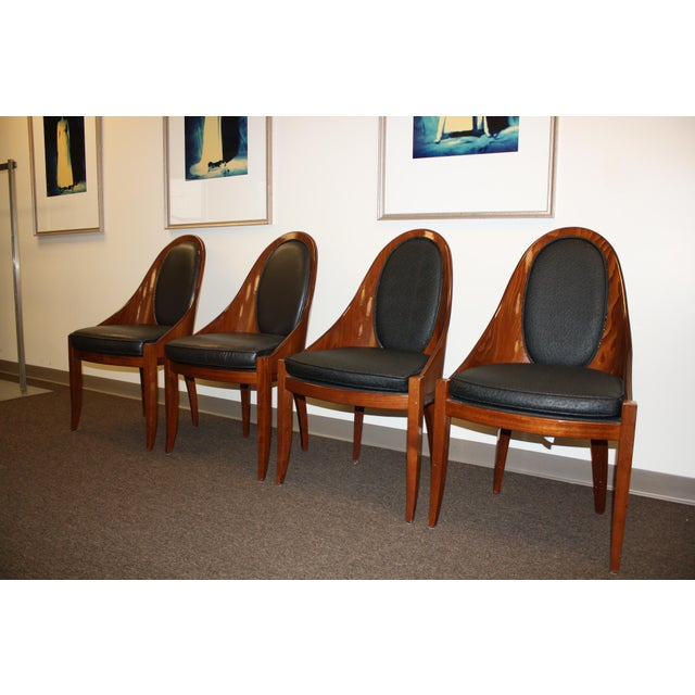Art Deco Pietro Costantini Dining Chairs - Set of 4 For Sale - Image 13 of 13
