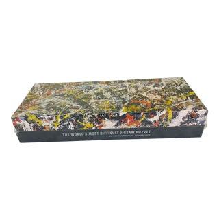 1980s Vintage Springbok Abstract Art Jackson Pollock Puzzle For Sale