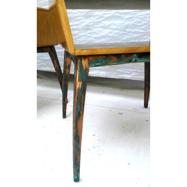 Heywood-Wakefield Side Tables - A Pair - Image 7 of 10