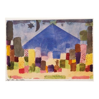 "1958 Paul Klee ""The Niesen"", First English Edition Lithograph For Sale"