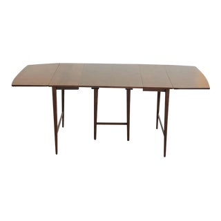 Mid-Century Modern Paul McCobb for Planner Group Extendable Drop-Leaf Maple Dining Table For Sale