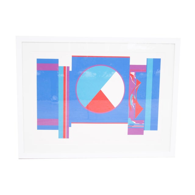 Original Budd Hopkins Untitled Abstract Expressional Serigraph, 1975 For Sale - Image 4 of 5