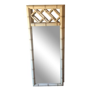 Vintage Faux Bamboo Mirrors For Sale