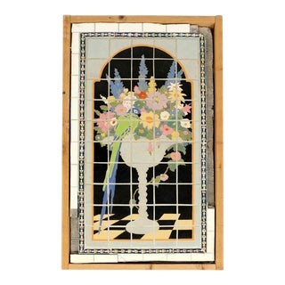 Claycraft Tile Wall Tableau For Sale