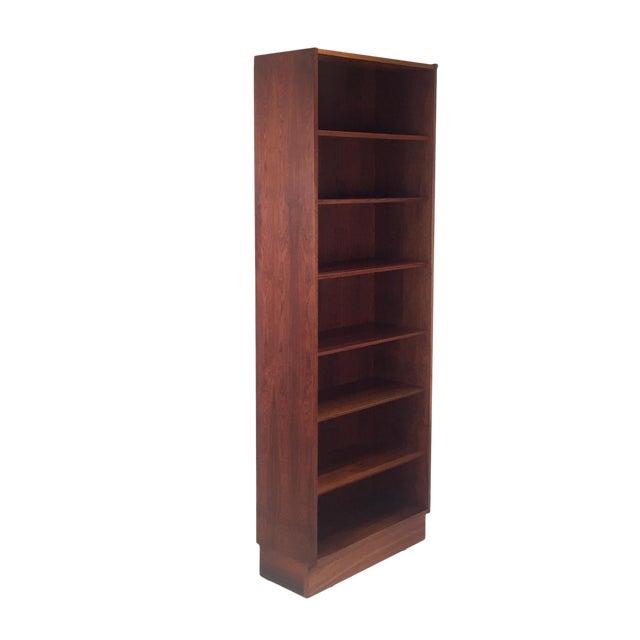 Vintage Danish Rosewood Bookcase For Sale